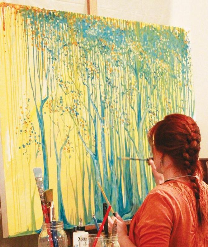 Alaskan artist Jamie Bottoms