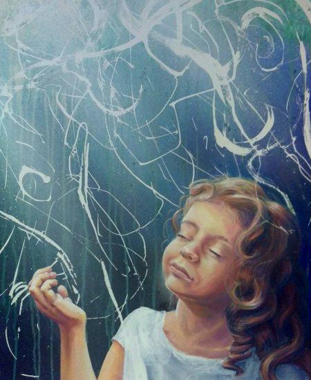 Alaska Artist Jamie Bottoms Washed in Light